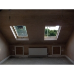small dormer and velux three