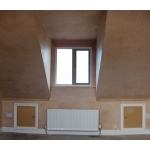 small dormer and velux one